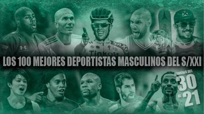 Del 30 al 21: Contador, Zidane, Ronaldinho, Bekele, Karabatic y el judoka invencible