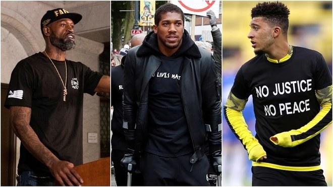 Las protestas realizadas por atletas de distintos deportes alrededor...