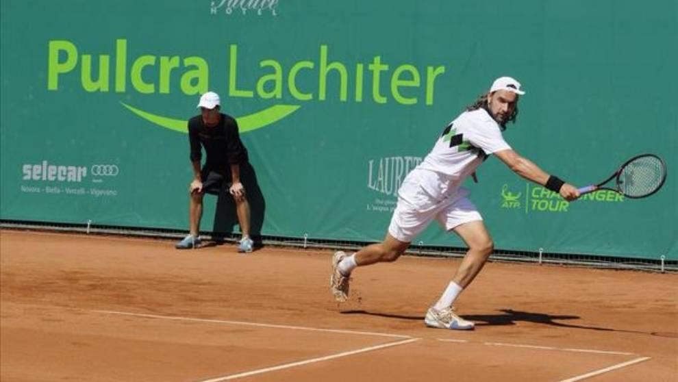 Enrico Becuzzi lleva 26 años intentando ganar un partido en singles