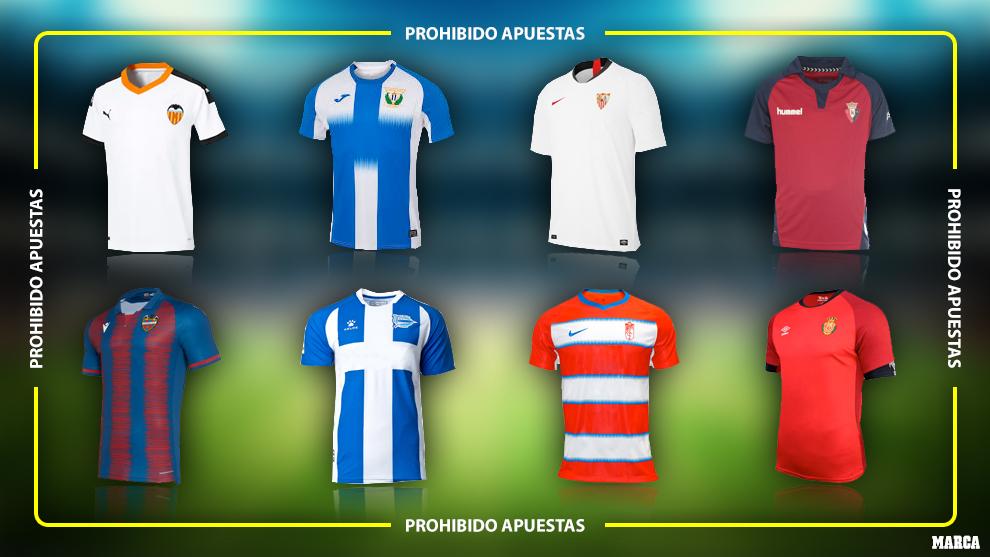 Fútbol sin apuestas: el decreto de Alarma prohíbe lucir esos patrocinios hasta el 21 junio pero Consumo valora autorizarlos