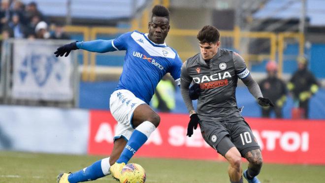 Brescia terminate Balotelli's contract