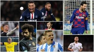 Los 100 jugadores más valiosos del mundo: Messi fuera del top 20 y Cristiano se desploma
