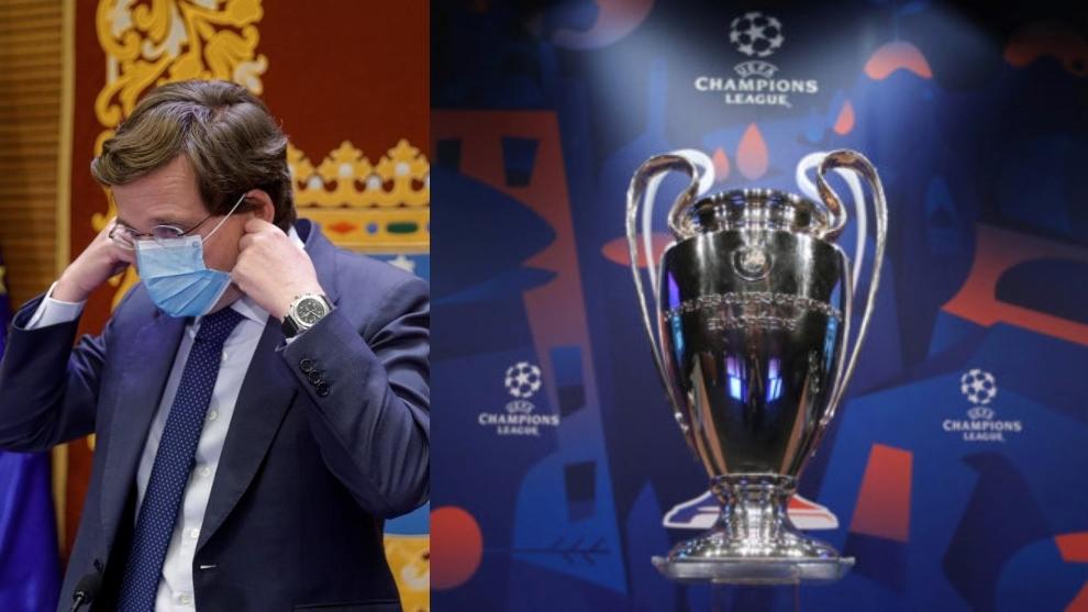 """Almeida 'desliza' una final de Champions en Madrid: """"Sé que hay gestiones al respecto"""""""