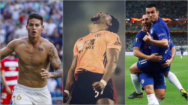 Lo más destacado del mercado de fichajes: James al United y Pedro a la Roma, la oferta de Klopp por Traoré...
