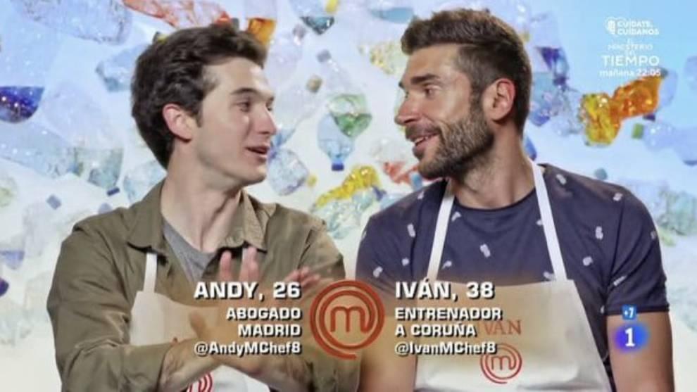Masterchef: Andy supera a Iván en las cocinas y en las preferencias...