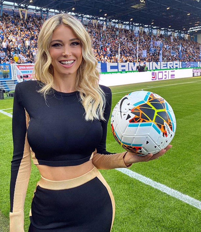 La periodista deportiva Diletta Leotta