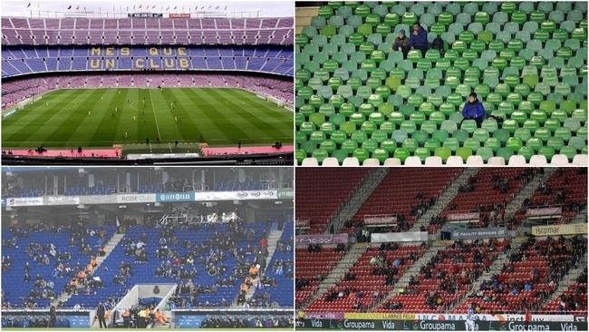 LaLiga quiere llenar un tercio del aforo de los estadios