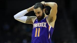 Ricky Rubio, en un partido de esta temporada con los Phoenix Suns.