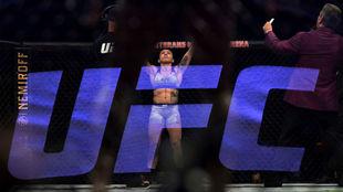 Un combate de la UFC, que ahora tendrá una velada en Yas Marina