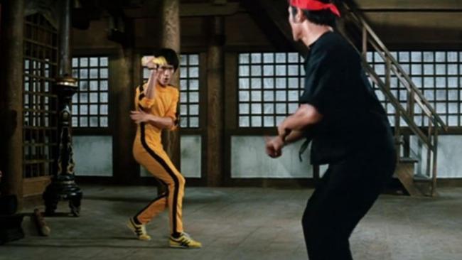 Bruce Lee con las Onitsuka Tiger en El Juego de la Muerte
