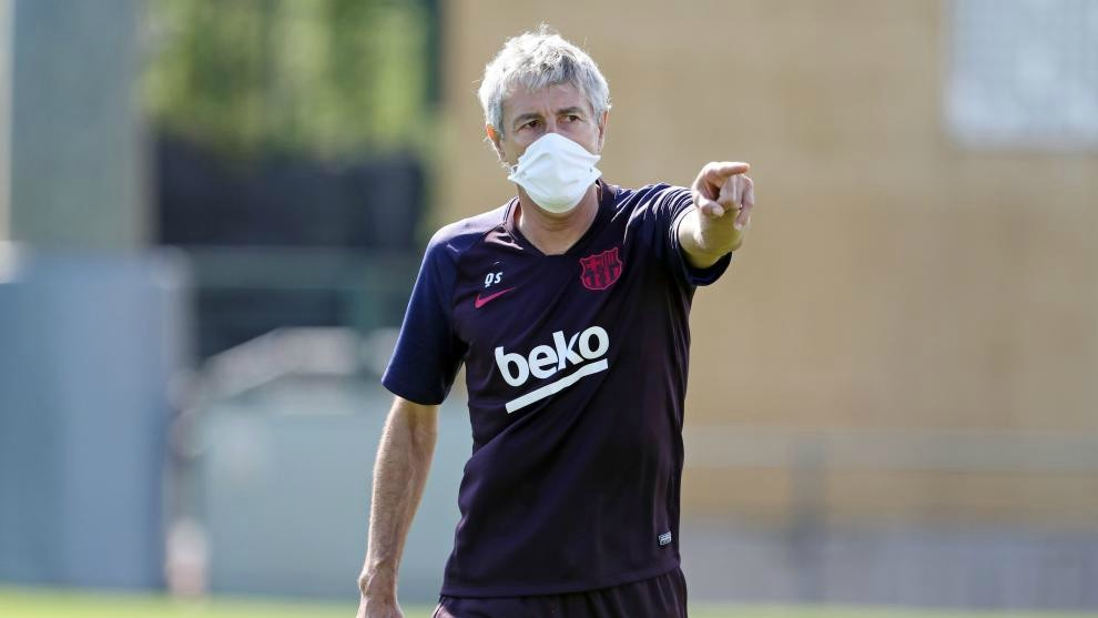 Setien: Messi will face Mallorca but Suarez won't play the full match