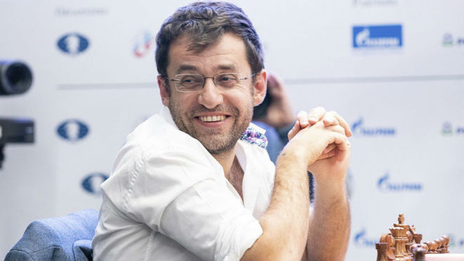 Aronian, durante una partida