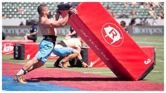Imagen de una competición de CrossFit.