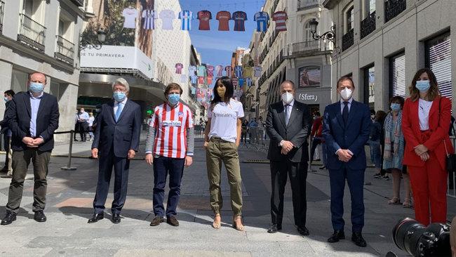 Acto de LaLiga Santander con el Ayuntamiento de Madrid