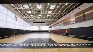 Panorámica de una de las canchas de L'Alqueria del Basket en...