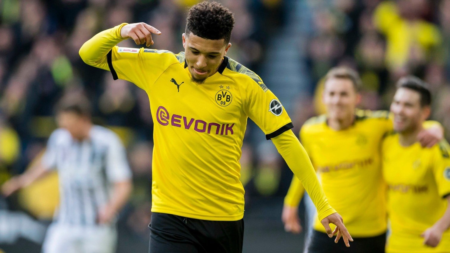 Jadon Sancho to leave Borussia Dortmund