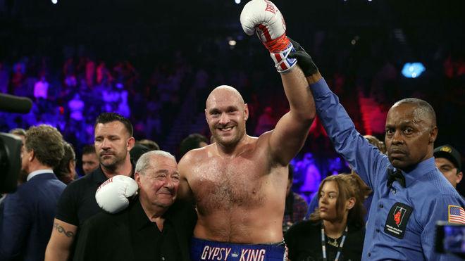 Tyson Fury, tras una pelea