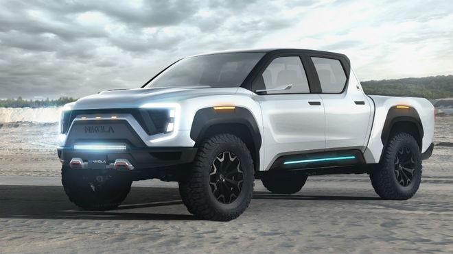 Nikola Badger, la 'pick-up' de hidrógeno que competirá con la...
