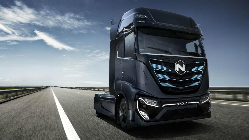 Nikola Tre, el camión eléctrico que tendrá 400 km de autonomía.