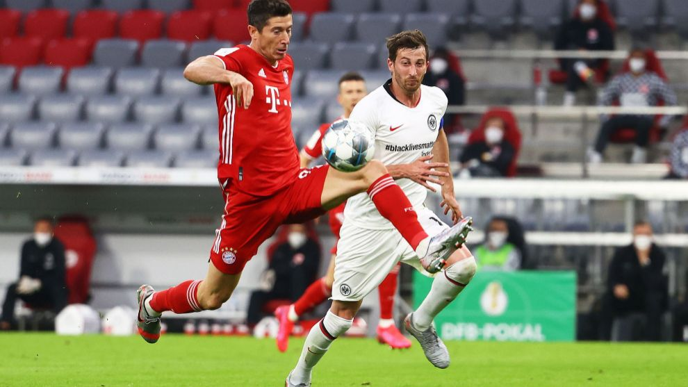 Lewandowski fires Bayern Munich into DFB-Pokal final