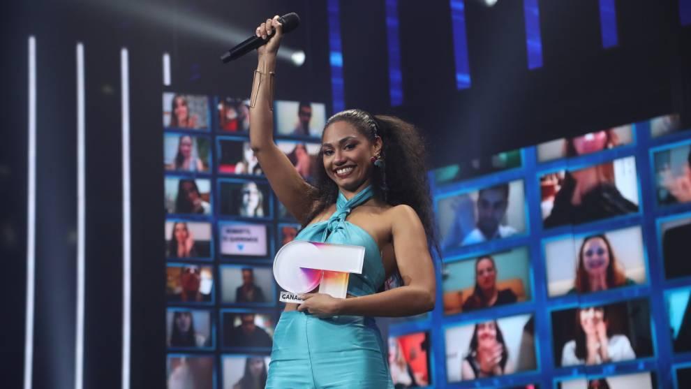 Nia se convierte en la ganadora de OT 2020