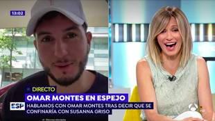 Omar Montes y Susanna Griso en 'Espejo Público'