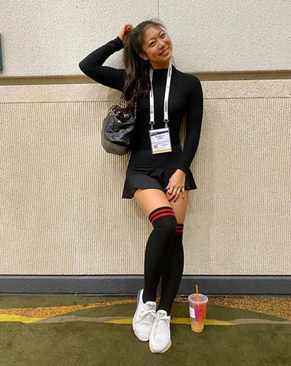 Isabelle Shee, la famosa Sock Girl del golf