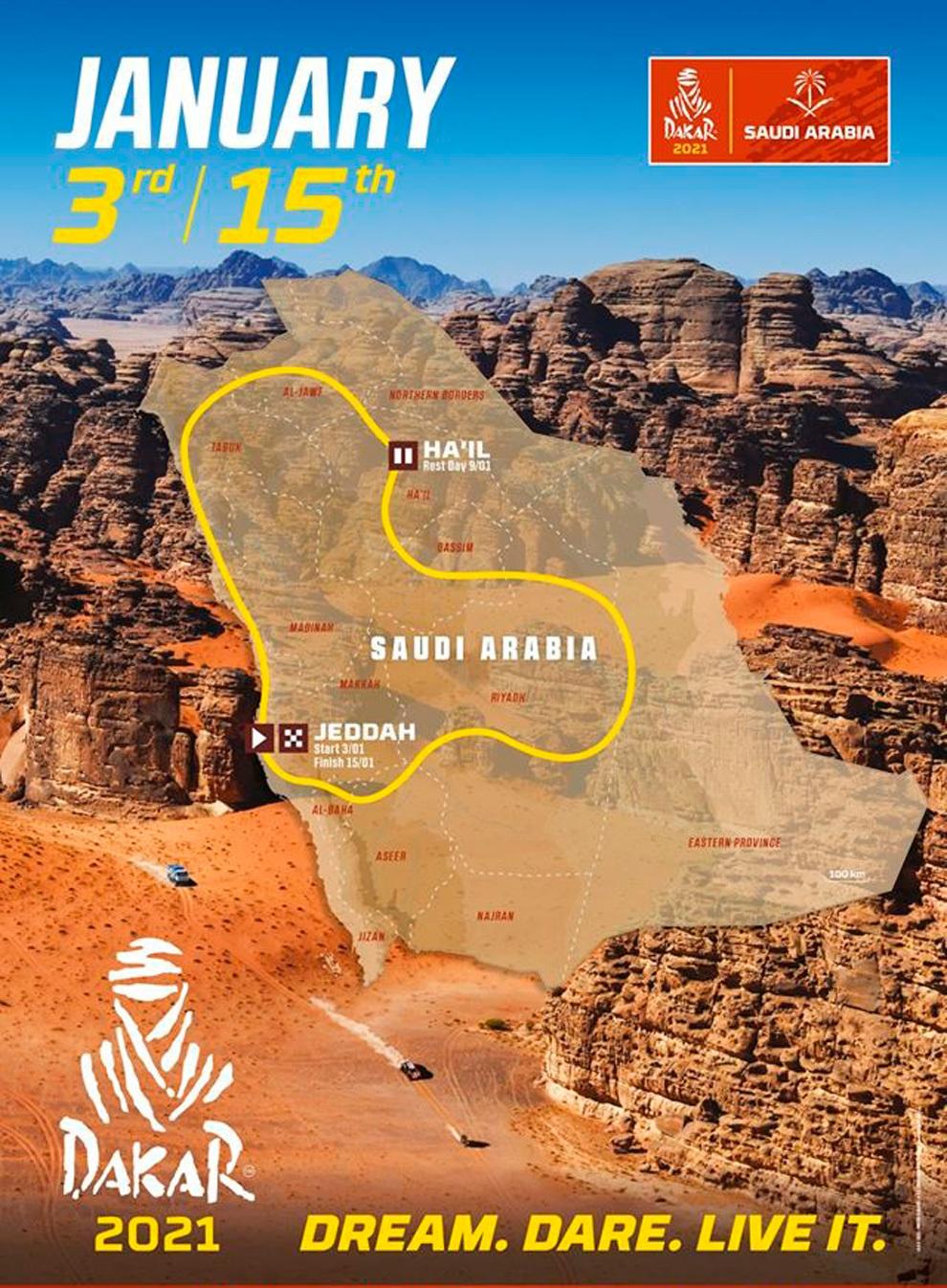 2021 43º Rallye Raid Dakar - Arabia Saudí [3-15 Enero] 15918752164274