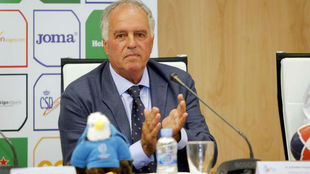 Alfonso Feijoo, presidente de la Federación Española de Rugby.