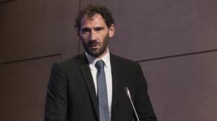Jorge Garbajosa, presidente de la Federación Española de Baloncesto.