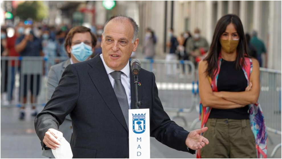 Tebas on isolation training camps: If players don't stop going to barbecues or parties...