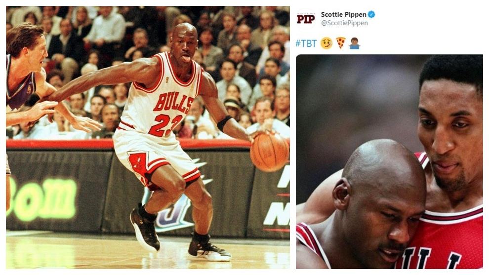 El enigmático mensaje de Pippen sobre el Flu Game de Jordan... 23 años después