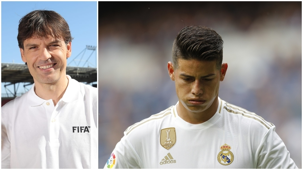 Morientes: James will shine again, whether at Real Madrid or elsewhere
