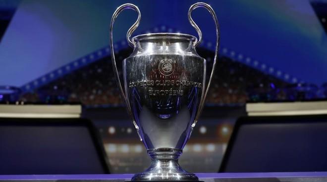 Imagen del trofeo de la Champions League.