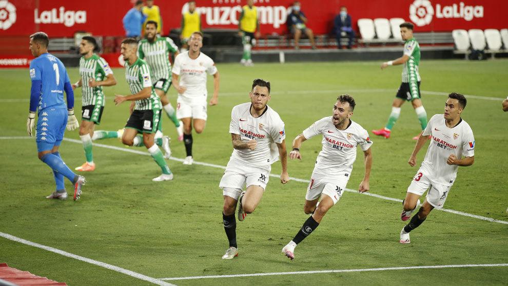 El Betis perdona el gol que le metería en el partido