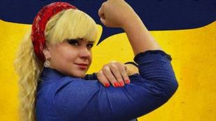 Mila Kuznetsova, una famosa modelo curvy que ganó el Miss Universo de...