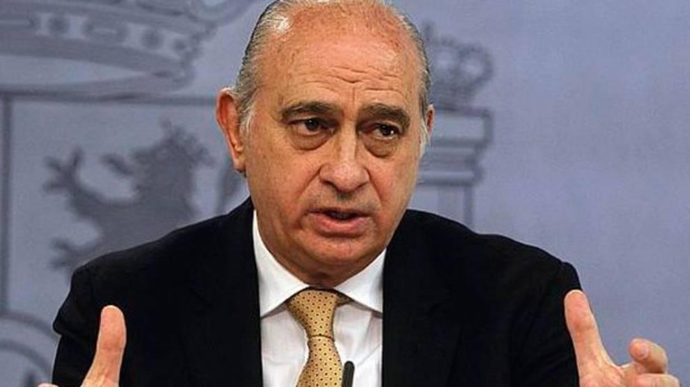 El ex ministro de Interior Jorge Fernandez Diaz es un fervoroso...
