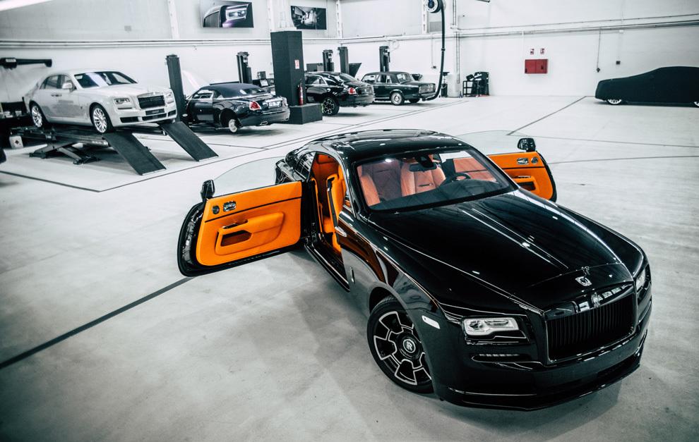 Imagen de las instalaciones de Rolls-Royce Motor Cars Barcelona.