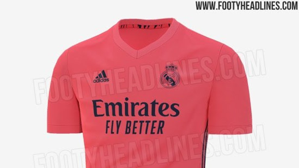 Real Madrid's possible second shirt for next season leaked