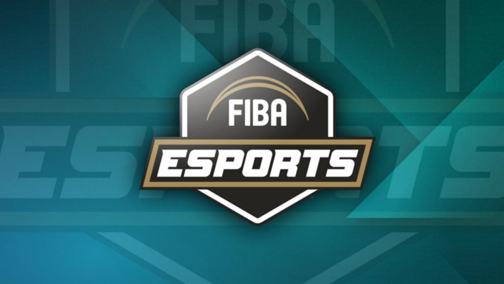 El logo del campeonato con el que FIBA anuncia su torneo de eSports