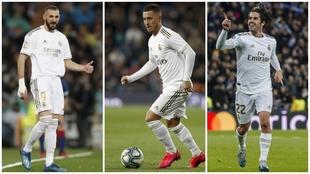 Los tres jugadores con más magia del Real Madrid