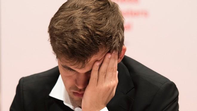 Magnus Carlsen.