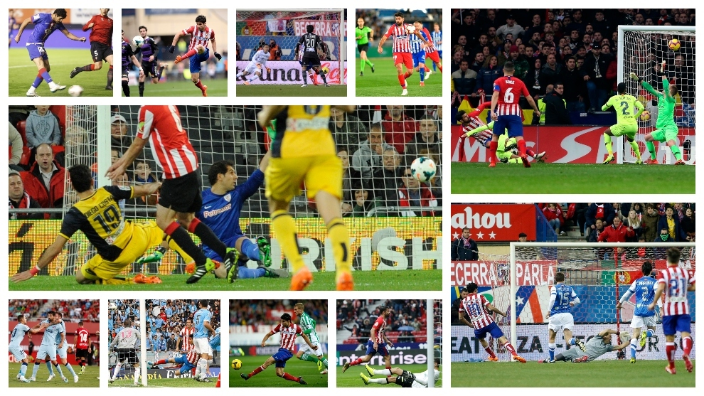 Diego Costa has already scored against the 11 opponents that await Atletico Madrid