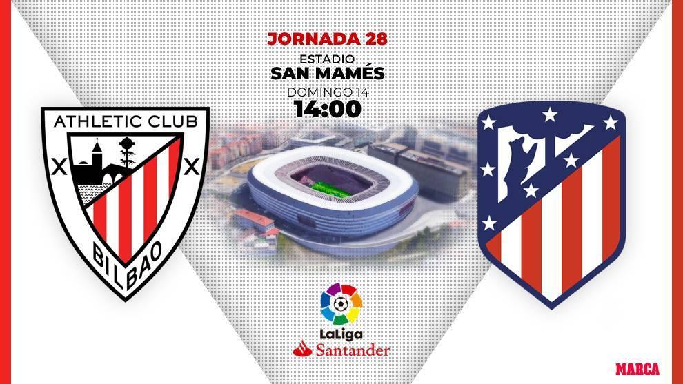 Athletic- Atlético, en directo: a la espera de los onces