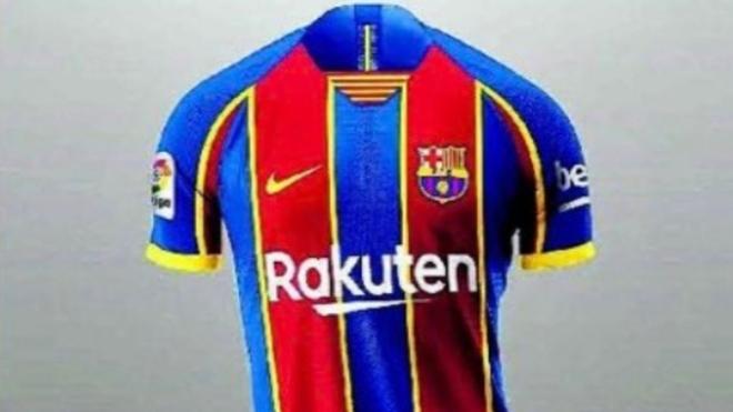Fc Barcelona El Barca Estrena La Camiseta 2020 21 Contra El Espanyol Marca Com