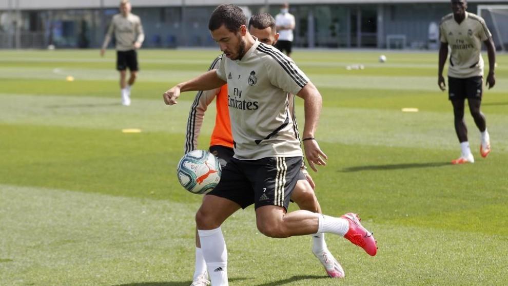 Hazard and Asensio make Real Madrid squad list for Eibar clash