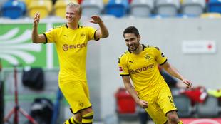 Haaland le dio la victoria al Dortmund e impidió el título del...