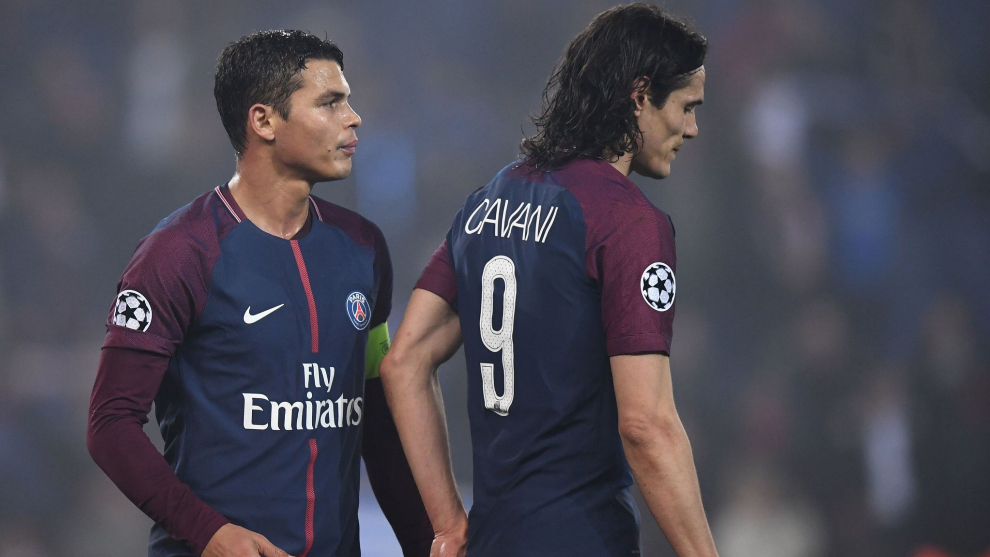 PSG greats Silva, Cavani to leave Ligue 1 champions