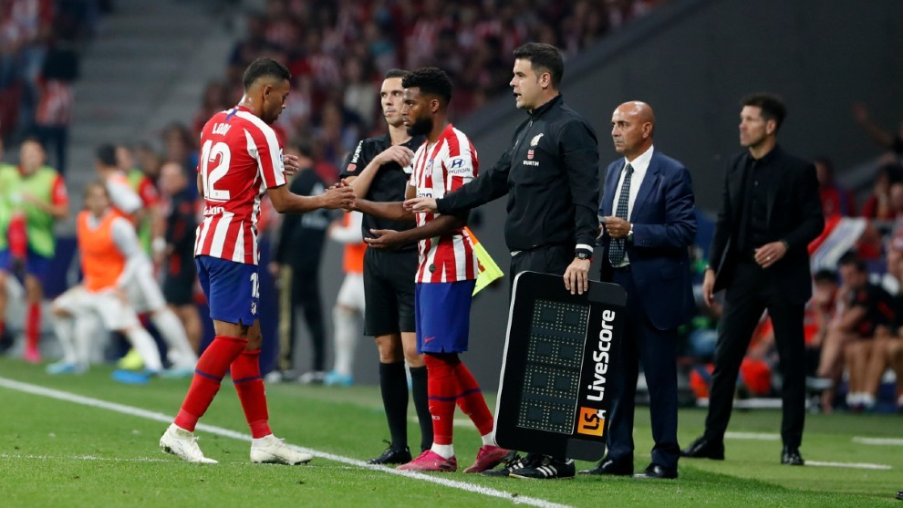 Five substitutions: A new weapon for Simeone