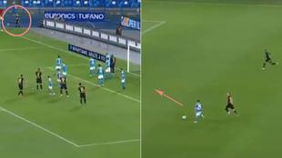 Mágico Nápoles-Inter: del golazo olímpico de Eriksen... a la contra letal de Mertens
